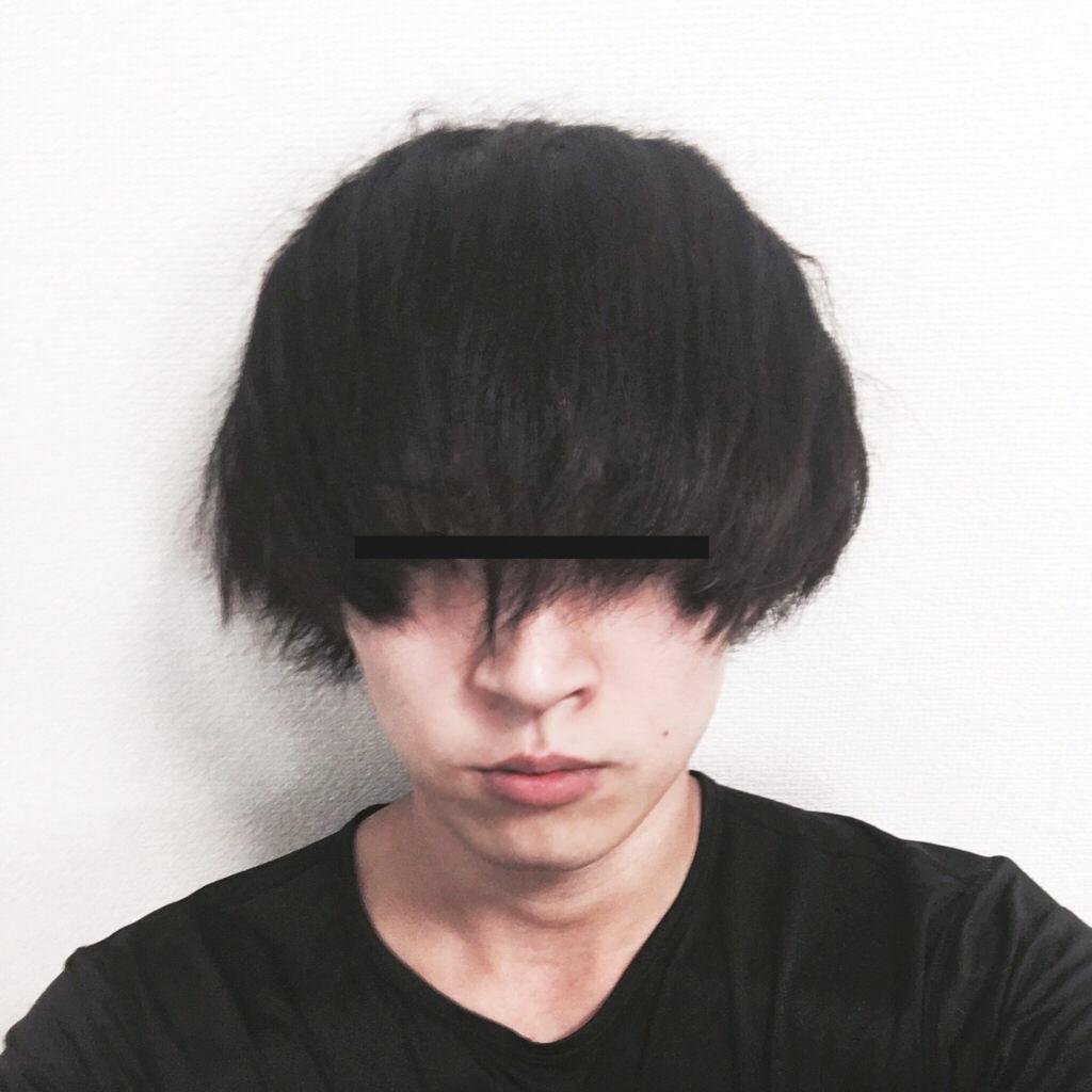 髪型 落武者